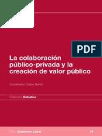 La Colaboración Público-privada y La Creación de Valor Público