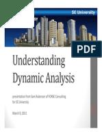 2011.03.09 - Understanding Dynamic Analysis