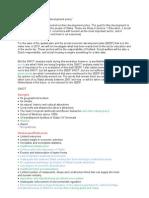 Summary Workshop social economic planning 2007