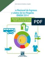 Encuesta Nacional de Ingresos y Gastos de Los Hogares 2014