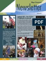 Streamwood Newsletter, Nov. 2015