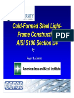 2012.02.08 - Cold-Formed Steel Design - Design Standards (Part 1)
