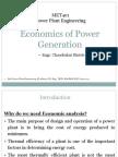 Chapter 1 - Economics of Power Generation