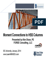 2014.01.08 - Moment Connections to HSS Columns