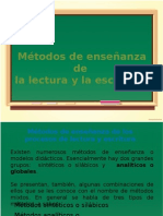 Métodos de enseñanza de Lectoescritura