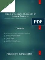 Impact of Population Explosion on National Economy