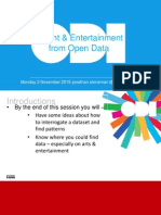 Insights and Entertainment from Open Data with Jonathan Stoneman