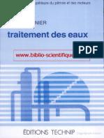 Traitement Des Eaux Www.biblio-scientifique.com