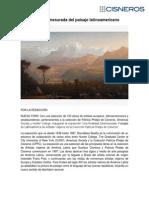 La realidad desmesurada del paisaje latinoamericano