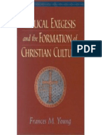 Biblical Exegesis and the Formation of Christian Culture, Francis Young