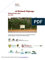 Microsoft Word - Project Dieback Signage Protocol Version 8 1