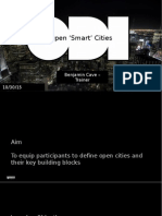 Discovering open cities through open data with Ben Cave