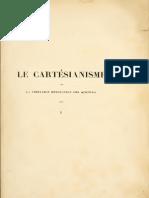 Bordas-Demoulin - Le Cartésianisme I