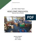 howard hwd head start project