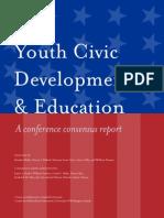 Malin Et Al. (2014) Civic Education Report