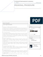 Standart Operasional Prosedure Maintenance_ Sop Maintenance