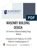 2012.08.08 - Masonry Building Design