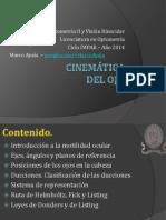 Cinemática Del Ojo