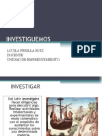 Charla Investigacion Semilleros