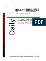 Trader's Daily Digest - 29.10.2015