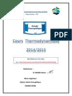 Cours Thermodynamique Version Finale 1 Année