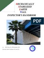 MSE Wall Inspectors Handbook