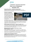 What's new in Plimmeton? November 2015 newsletter