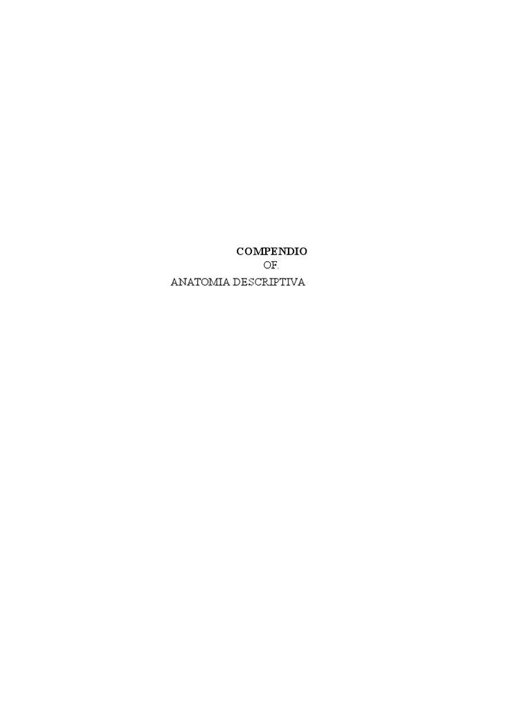 Compendio de Anatomia Ceop