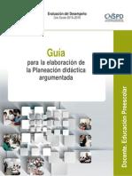 Guia Academica Para La Planeación Argumentada