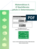 Apuntes mareaverde tema 2 Determinantes 2 Bachillerato (selectividad