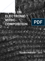 Notes On Electronic Music Composition