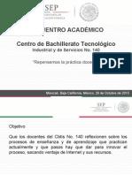 Encuentro Académico Cbtis No. 140