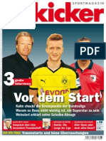 Kicker Sportmagazin - Nr.66_ 10 August 2015