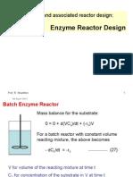 Enzyme Reactor Design