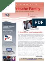 Fritsche Family Newsletter - Oct Nov 2015