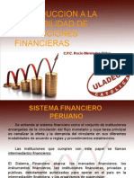 Instituciones Financieras