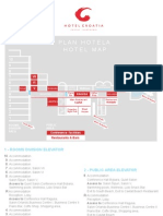 Plan Hotela - Hotel Croatia - Excelsa Hotels, Cavtat - Dubrovnik, Croatia