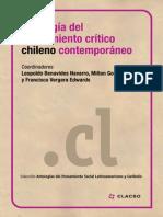 Antologia Del Pensamiento Critico Chilen