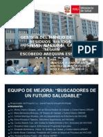 Proyecto de Mejora Hospital Carlos Seguin Escobedo EsSalud