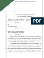 Melendres # 1506 | Order Denying Zullo Motion