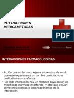 INTERACCIONES MEDICAMETOSAS