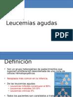 Leucemia en Pediatriaasrgarg
