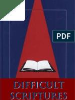 Difficult Scriptures (Bible)