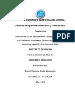 Obtención de Curvas Galvanostáticas y Ensayos de Resistencia a La Polarización en Varillas de Construcción Astm A-42