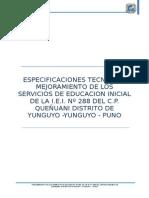 Item 01 Construccion de Infraestructura Educativa