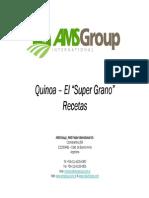 Recetario Quinoa