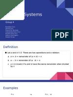 Math 1  Modular System