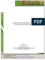 Present Status of Basmati Research in India
