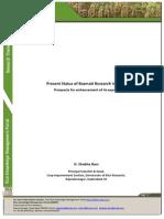 Present Status of Basmati Research in India
