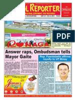 Bikol Reporter September 27 - October 3, 2015 Issue